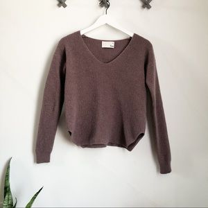 Wilfred Free Wolter Waffle Knit Sweater